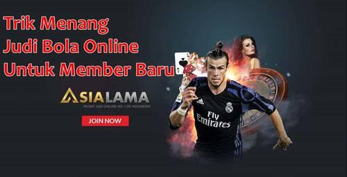 Trik Menang Judi Bola Online Untuk Member Baru