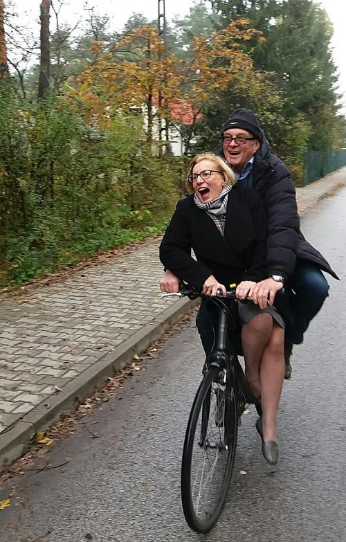 Sortie vélo à Izabelin