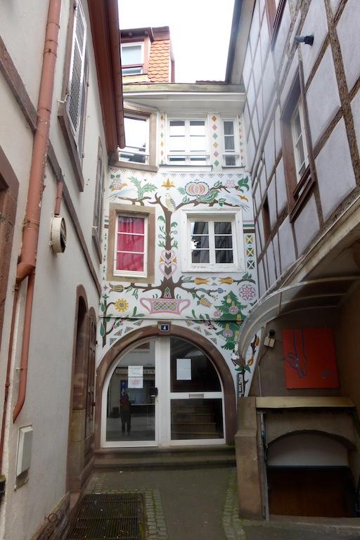 Sélestat: les porches en hommage à Rozy!
