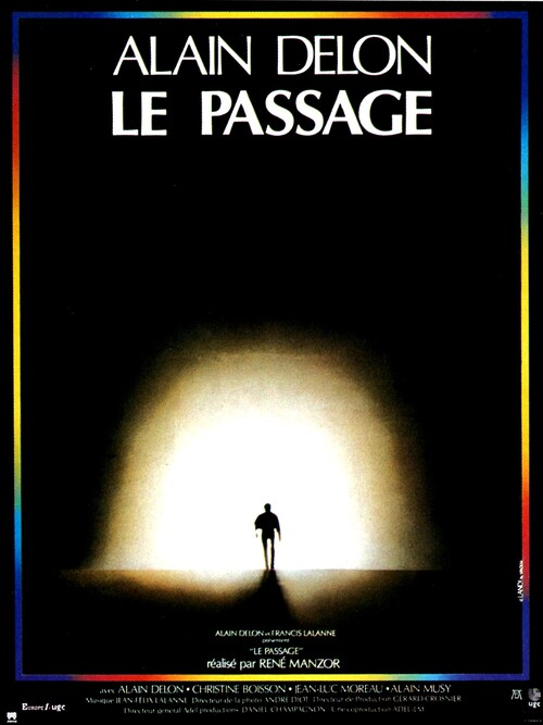 LE PASSAGE -  ALAIN DELON BOX OFFICE 1986