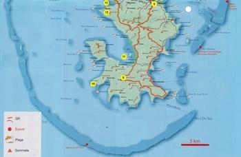 Mayotte - L'île Hippocampe.
