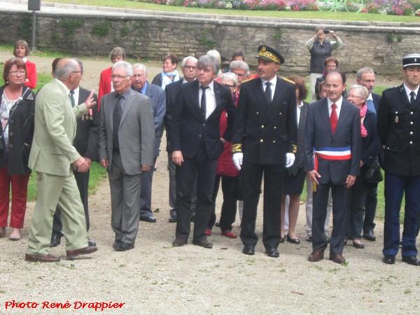 Les cérémonies du 14 juillet 2016 à Châtillon sur Seine...