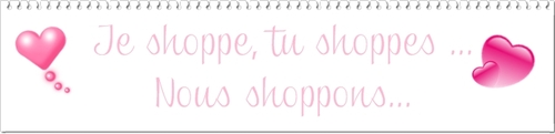 Shoppons avant la St Valentin pour se faire belles !