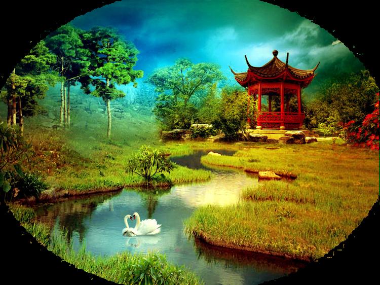 Mes Tubes Paysages Asiatiques Série 3
