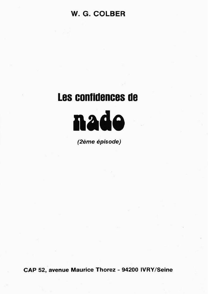 Les confidences de Nado 2/4