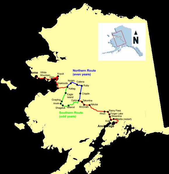 Iditarod Carte
