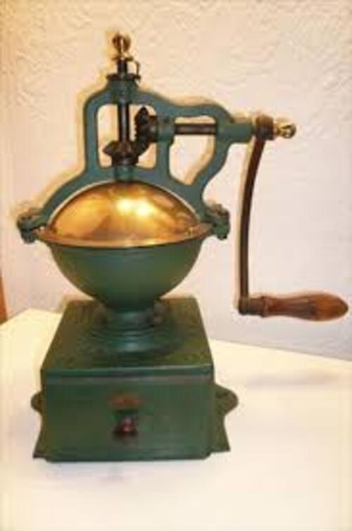Mil défi n° 191 - Un moulin à café
