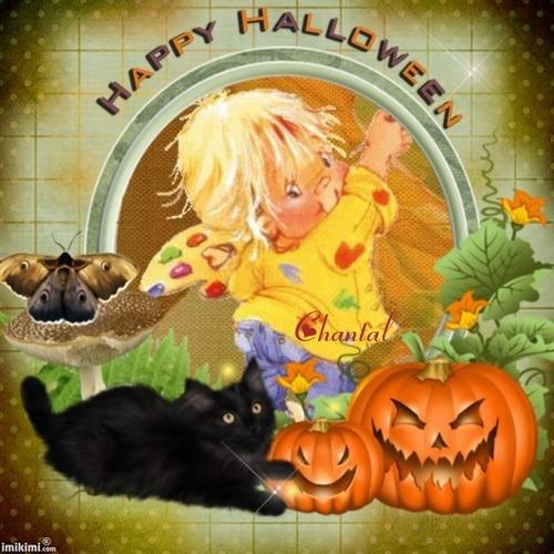 Je passe pour vous souhaiter un Joyeux Halloween