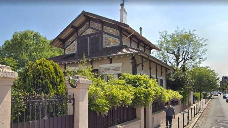 Cette maison est un ancien pavillon d'une exposition universelle