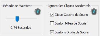 Filtrer les actions clic gauche involontaires avec X-Mouse Button Control