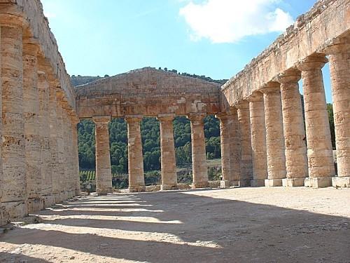 Segeste - Le temple 2