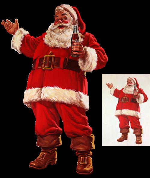 Père Noël - Coca