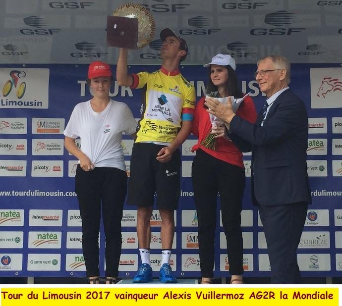 Tour du Limousin 2017: c'est fini on connais le nom du vainqueur après les 707,4 kilomètres de bitume