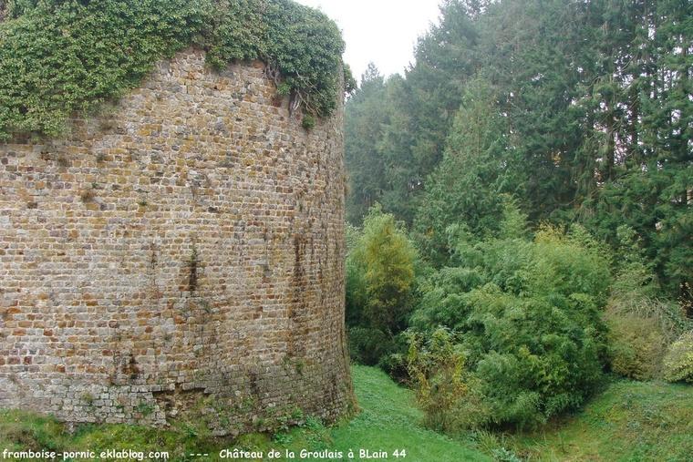 Château de la Groulais à Blain