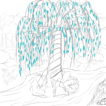 Croqui arbre cristal