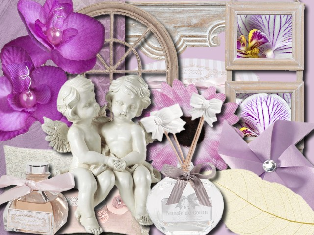 "Kit digiscrap ""Douceur"""