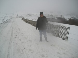 9 mars 2007 au pied du Puy Mary