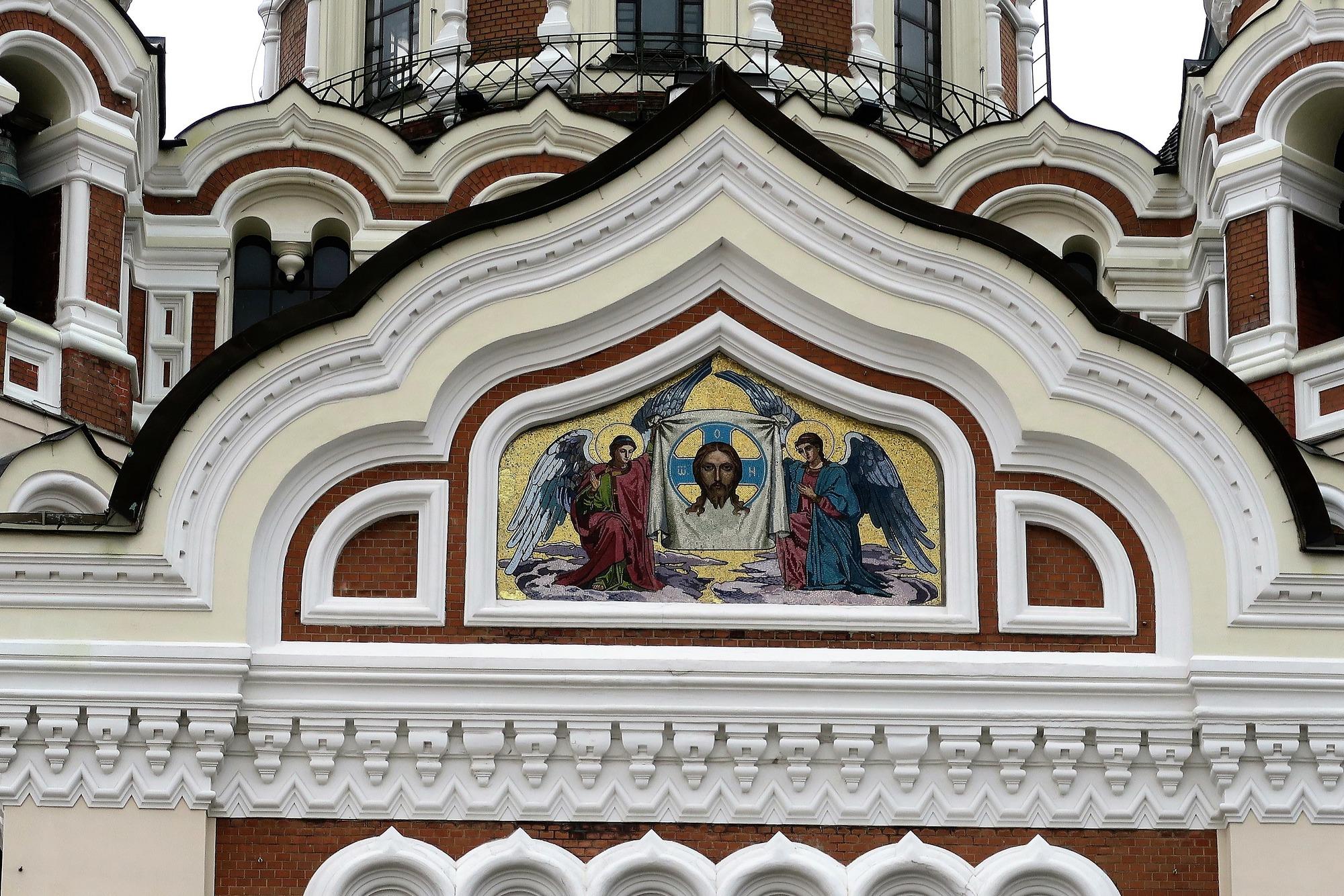 TALLINN (EST) [2] Cathédrale orthodoxe Alexandre-Nevski