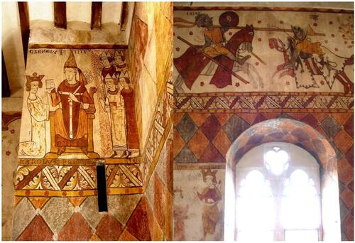 Les fresques de la Tour Ferrande à Pernes les Fontaines