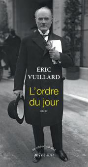 «L'Ordre du jour», d'Éric Vuillard