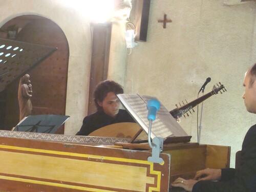 Un très beau concert dans l'Eglise de Saint Marc sur Seine...