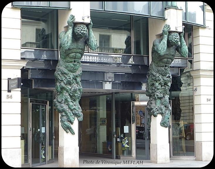 Paris 8ème : Galerie Florence De Voldère