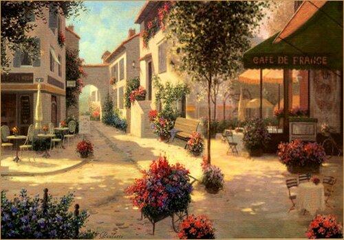 Mon village fleuri