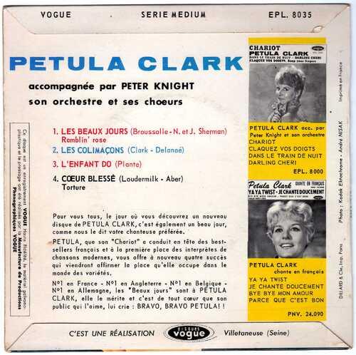 Petula Clark - Les Colimaçons (1962) 02