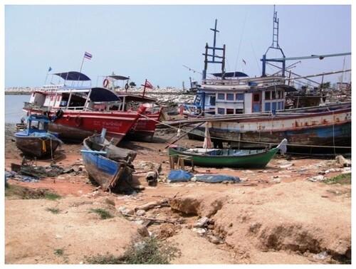 Plage Ban Aphur. Thaïlande.