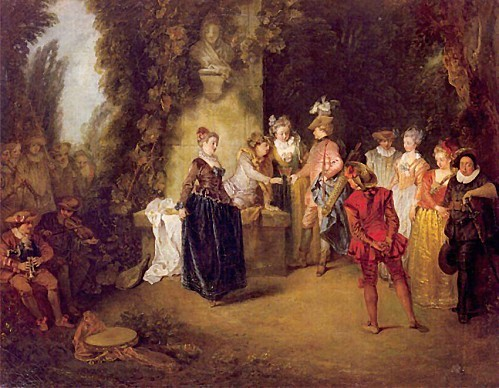 Jean-Antoine Watteau, Love in the French Theatre