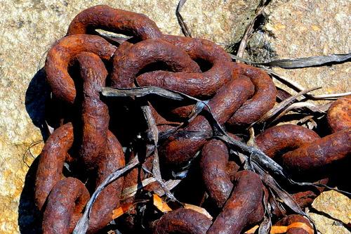 Variation : la chaîne rouillée