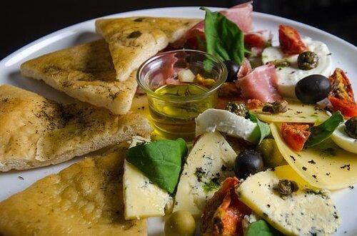 La foccacia aux olives