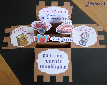 Cadeaux d'anniversaire - carte-3
