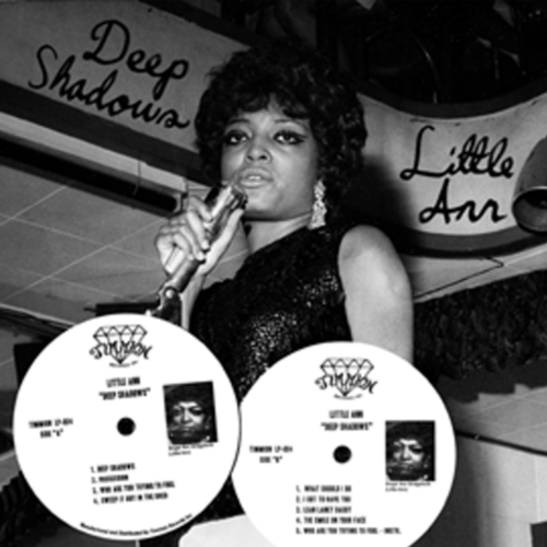 "Little Ann [ Bridgeforth ] : Album "" Deep Shadows "" Timmion Records LP-004 [ FI ] en 2009"