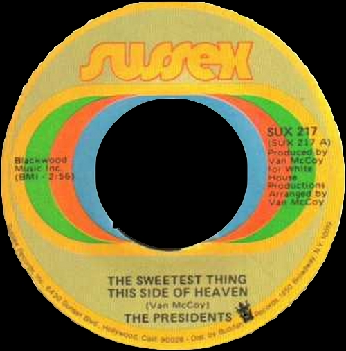 "The Presidents : Album "" 5-10-15-20-25-30 Years Of Love "" Sussex Records SXBS 7005 [ US ]"
