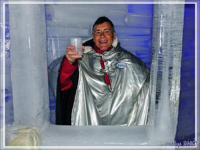 Un moment récréatif au Glaciarium : le bar glacé - El Calafate - Argentine