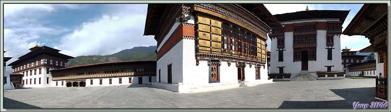 Le Monastère forteresse de Thimphu: Tashichoedzong (Tashichhodzong) - Bhoutan