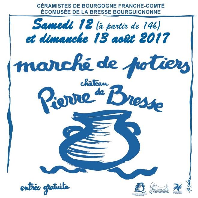 Marché de potiers_Pierre de Bresse 2017