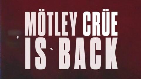 MÖTLEY CRÜE - Retour scénique en 2020