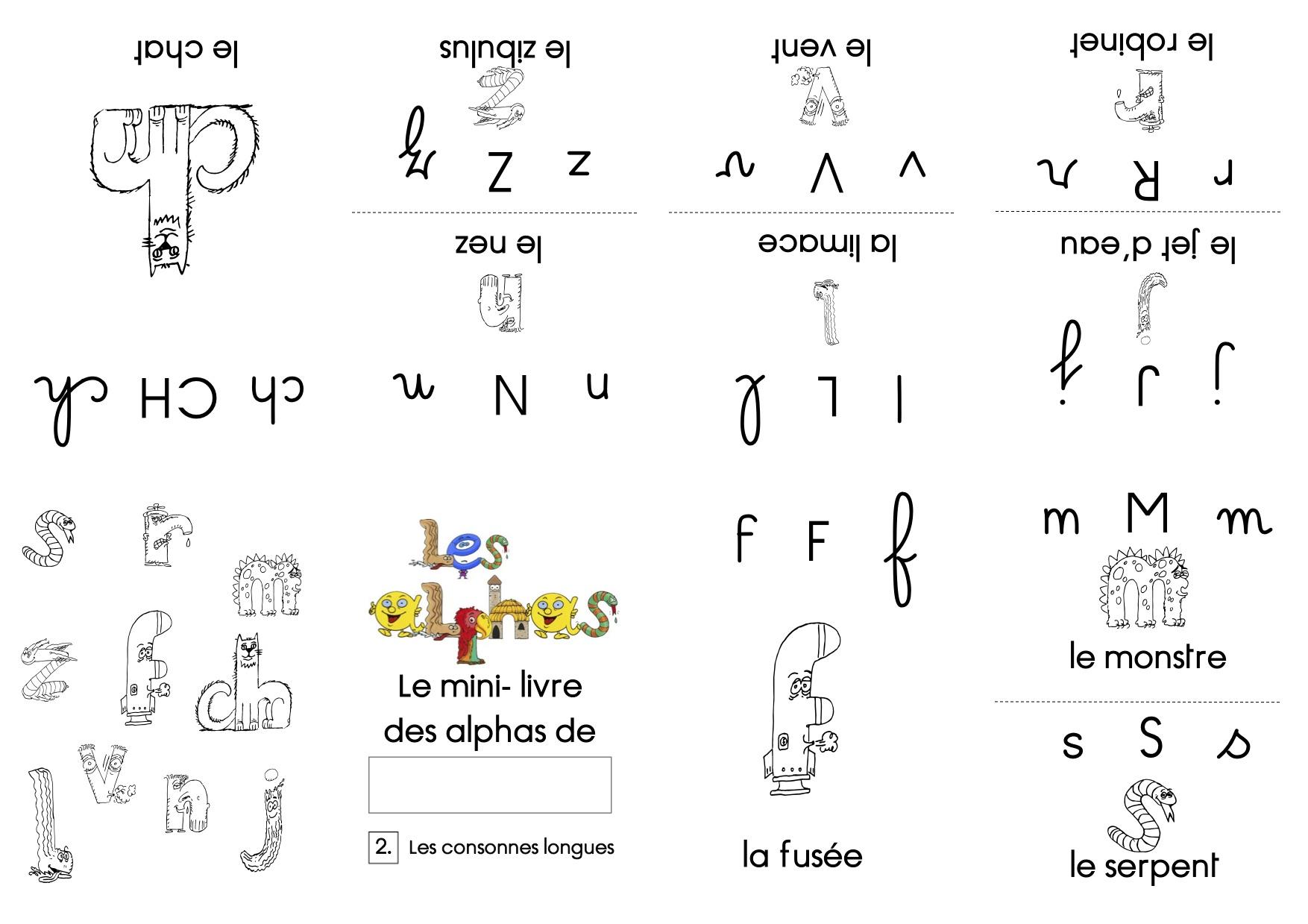 Mini livre sur les alphas   La classe de Luccia