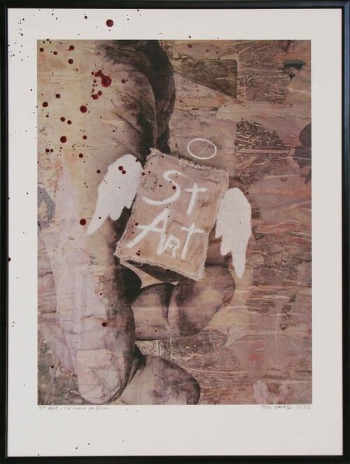 St Art - La Main de Dieu - 30x40 cm-2011lgt