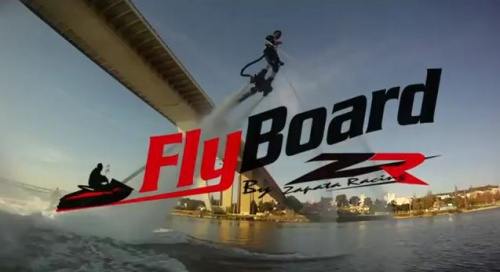 Flyboard, Acrobatie aquatique.  SPORTS EXTRÊMES (Rubrique)