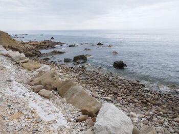 La plage de la Coudoulière