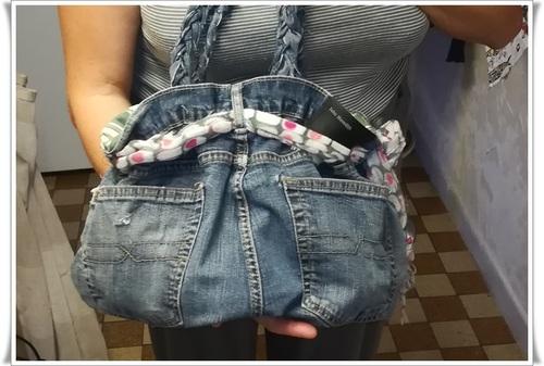 Nos jeans usées on peut les garder !!!