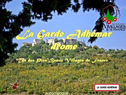 PPS MES CREATIONS garde_adhemar2012