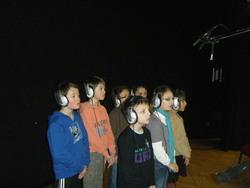Enregistrement des chansons avec Jean Nô et Rémi