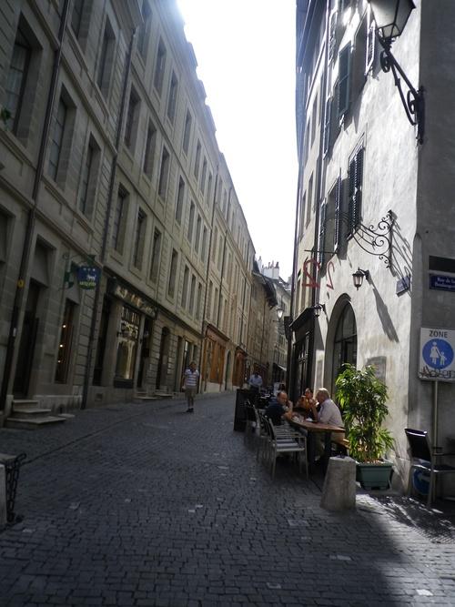Promenade à Genève