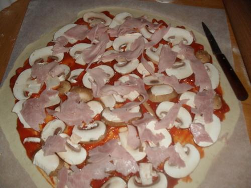 hier soir c'était Pizza