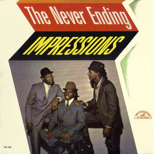 "1964 : Album "" The Never Ending Impressions "" ABC Paramount Records ABCS 468 [ US ]"