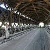 Canada 2009 Pont couvert de Routhierville sur la rivère Matapédia (3) [Résolution de l\'écran] c